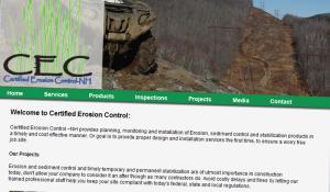 Certified Erosion Control Website