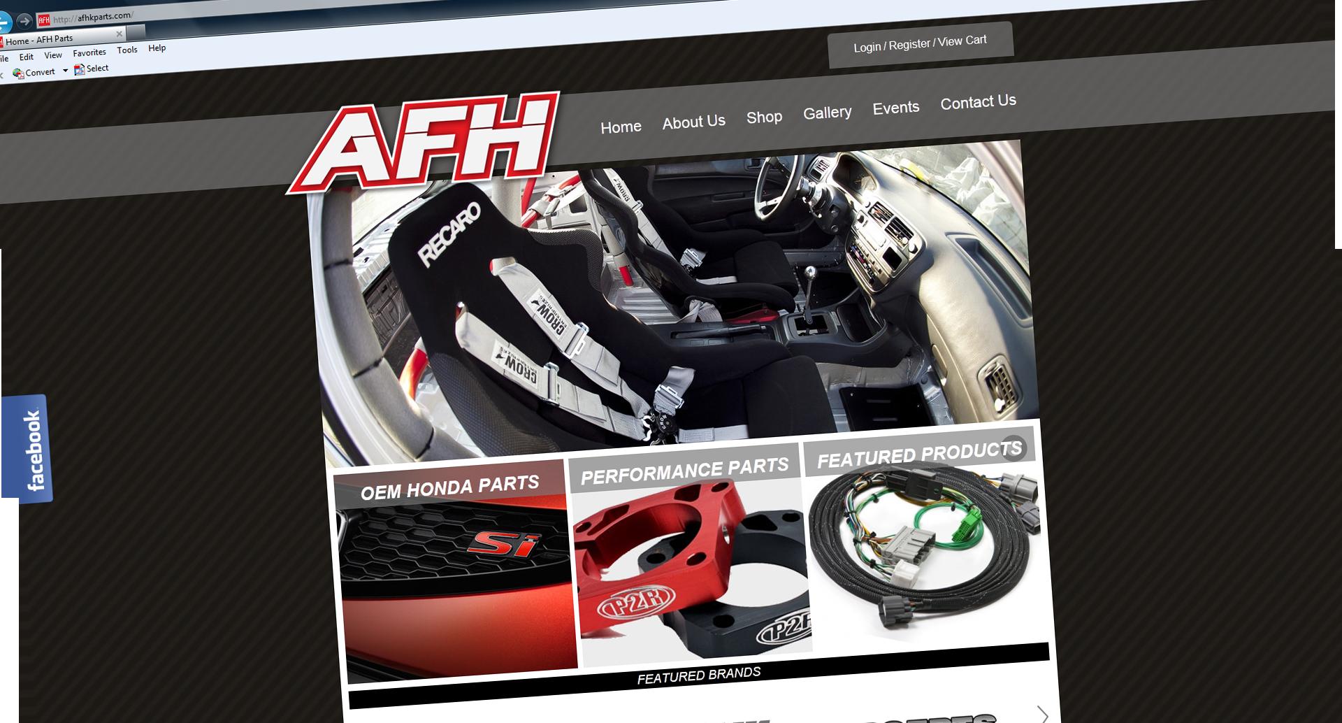 AFHpartswebsite